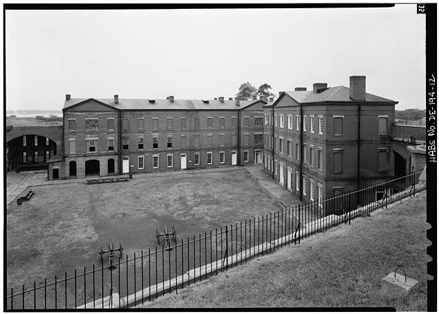 Fort Delaware in 19th century