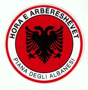 Town emblem of the former Piana dei Greci