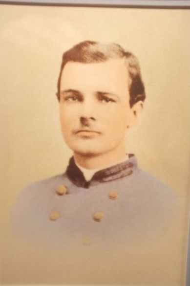 W. C. Cherry as a first lieutenant, Armyu of Northern Virginia